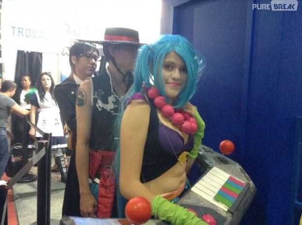 Tim promove concurso de cosplay durante a BGS