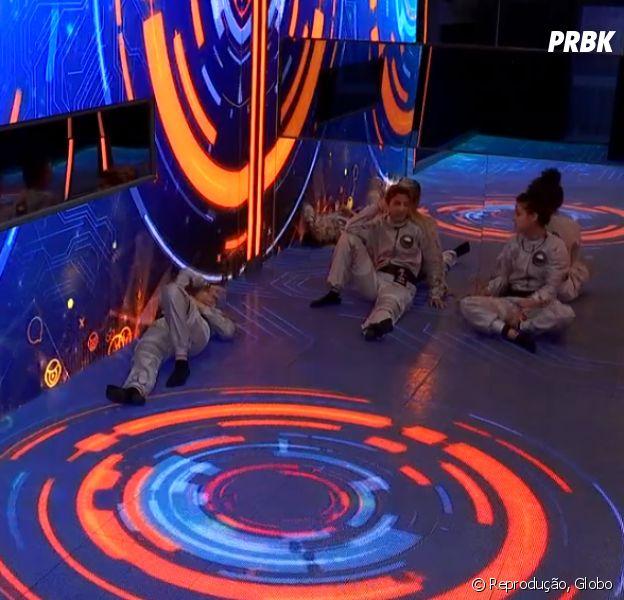 """No """"BBB19"""": Hana, Hariany e Paula estão no Quarto 7 Desafios!"""