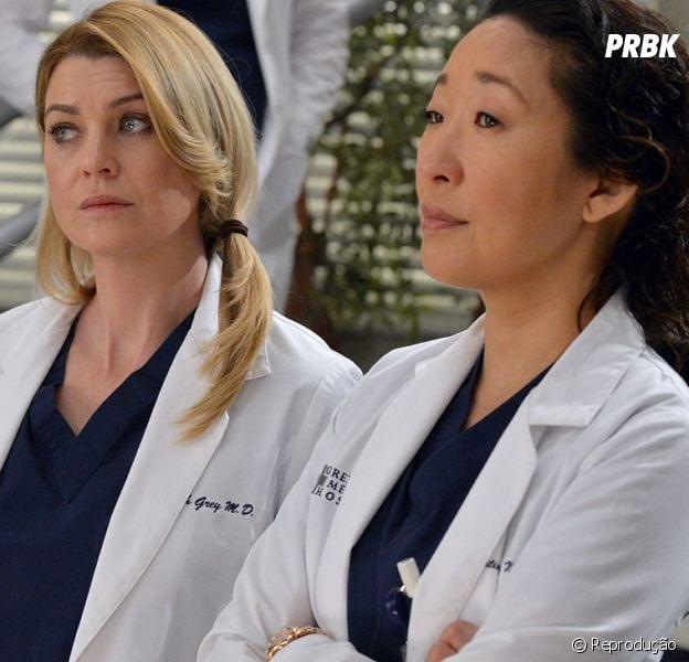 """De """"Grey's Anatomy"""": Cristina Yang (Sandra Oh) de volta? Ellen Pompeo diz que amaria o retorno da personagem"""
