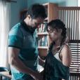 """Em """"Malhação"""", Verena (Joana Borges) foi assediada pelo professor Breno (Marcelo Argenta) no começo da trama"""