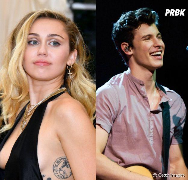 Miley Cyrus feat. Shawn Mendes?! TMZ fala sobre possível parceria que pode ser lançada em breve