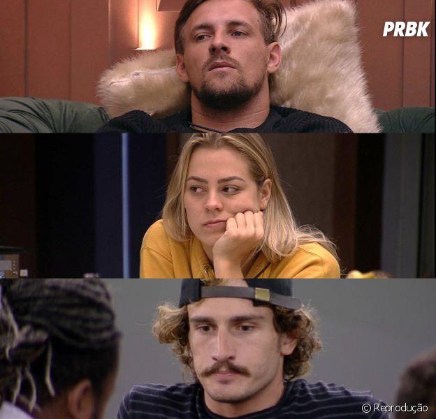 """Do """"BBB19"""": Diego, Isabella e Alan estão no paredão. Quem será eliminado?"""