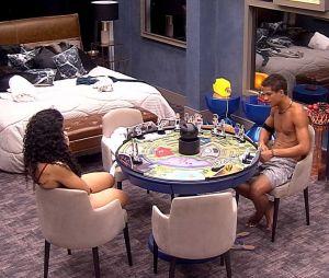 """No """"BBB19"""", Danrley e Elana decidem quem vão colocar no Paredão no próximo domingo (17)"""