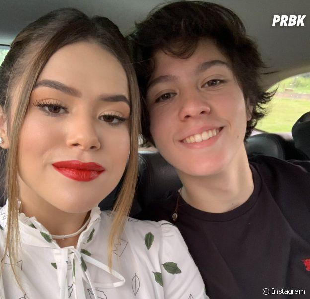 Maisa comemora 1 ano e 3 meses de namoro com Nicholas Arashiro e se declara