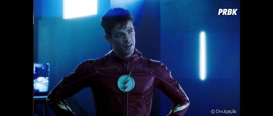 """Em """"The Flash"""": uniforme do Deus da Velocidade aparecem em imagens dos bastidores"""