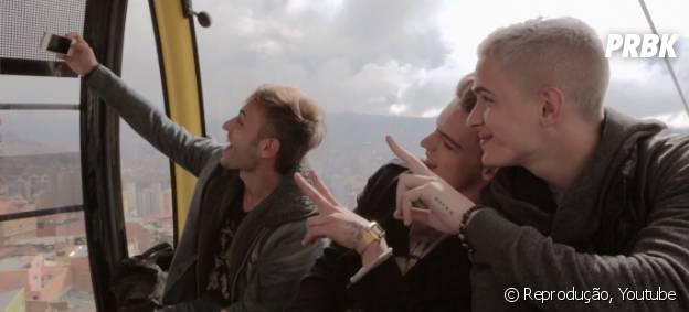 """O clipe """"Você Se Foi"""" da banda Fly, foi inteiramente gravada na Bolívia."""
