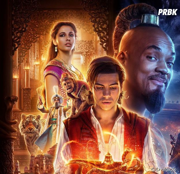 "De ""Aladdin"": live-action ganha novo trailer com cena de ""A Whole New World"""