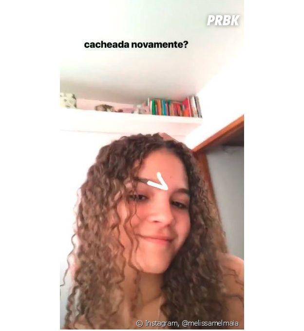 Mel Maia mostra o cabelo natural