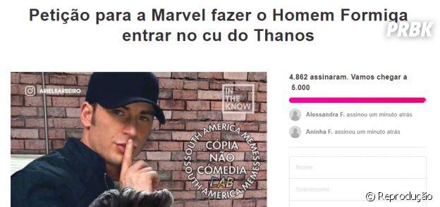 """""""Vingadores: Ultimato"""": há uma petição para a Marvel fazer o Homem-Formiga salvar o mundo de forma inusitada"""