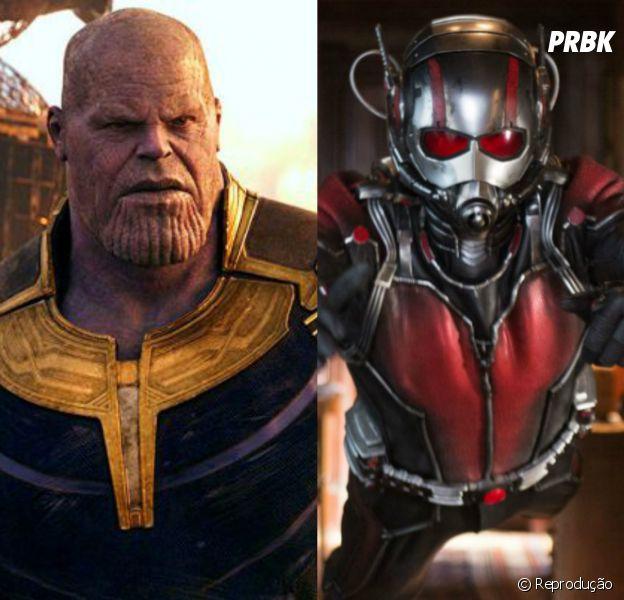 """""""Vingadores: Ultimato"""": até o Josh Brolin entrou na zoeira da luta inusitada do Homem-Formiga (Paul Rudd) contra o Thanos"""
