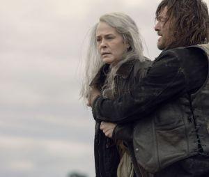 """Em """"The Walking Dead"""", Carol (Melissa McBride) ainda está abalada pela morte do filho"""