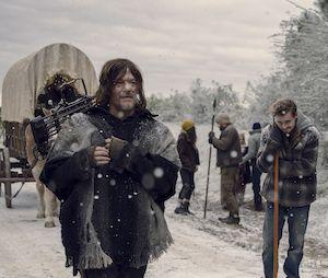 """Em """"The Walking Dead"""", grupo procura sobrevivência fora da comunidade durante nevasca"""