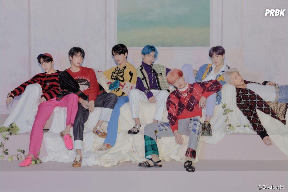 "BTS libera tracklist de seu comeback, o""MAP OF THE SOUL : PERSONA"""