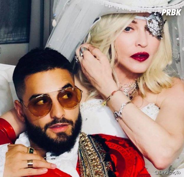 """""""Medellín"""": Madonna e Maluma arrasam no clipe e deixam internet sem palavras"""