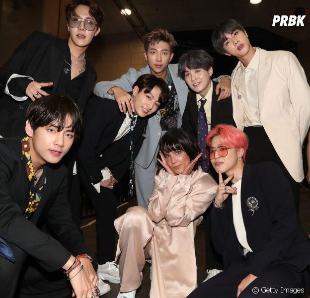O BTS e a Halsey fizeram a apresentação mais aplaudida da noite no Billboard Music Awards 2019