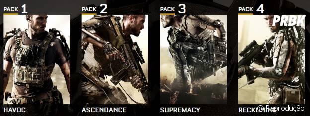 """Os 4 novos DLCs de """"Call Of Duty: Advanced War"""""""