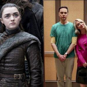 """Qual foi o season finale mais triste da semana, """"Game of Thrones"""" ou """"The Big Bang Theory""""?"""