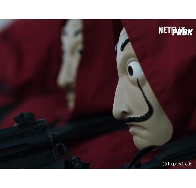 """Confira o novo trailer da 3ª temporada de """"La Casa de Papel"""""""