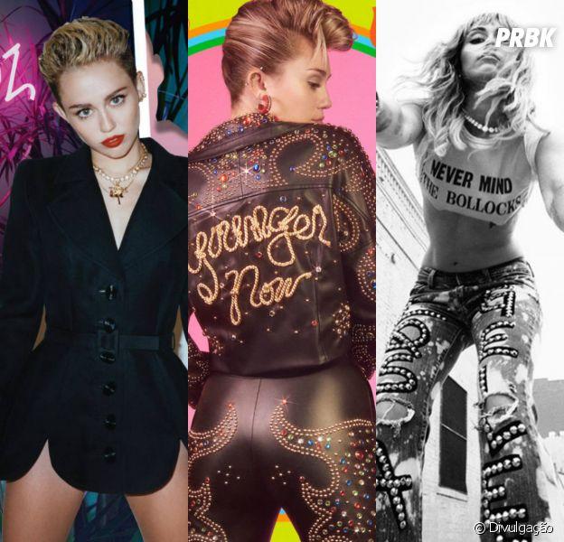 Miley Cyrus: faça o teste e descubra qual fase da cantora te representa