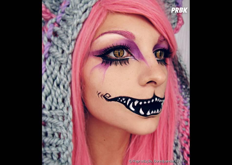 Mais Uma Maquiagem Macabra Para O Dia Das Bruxas Purebreak
