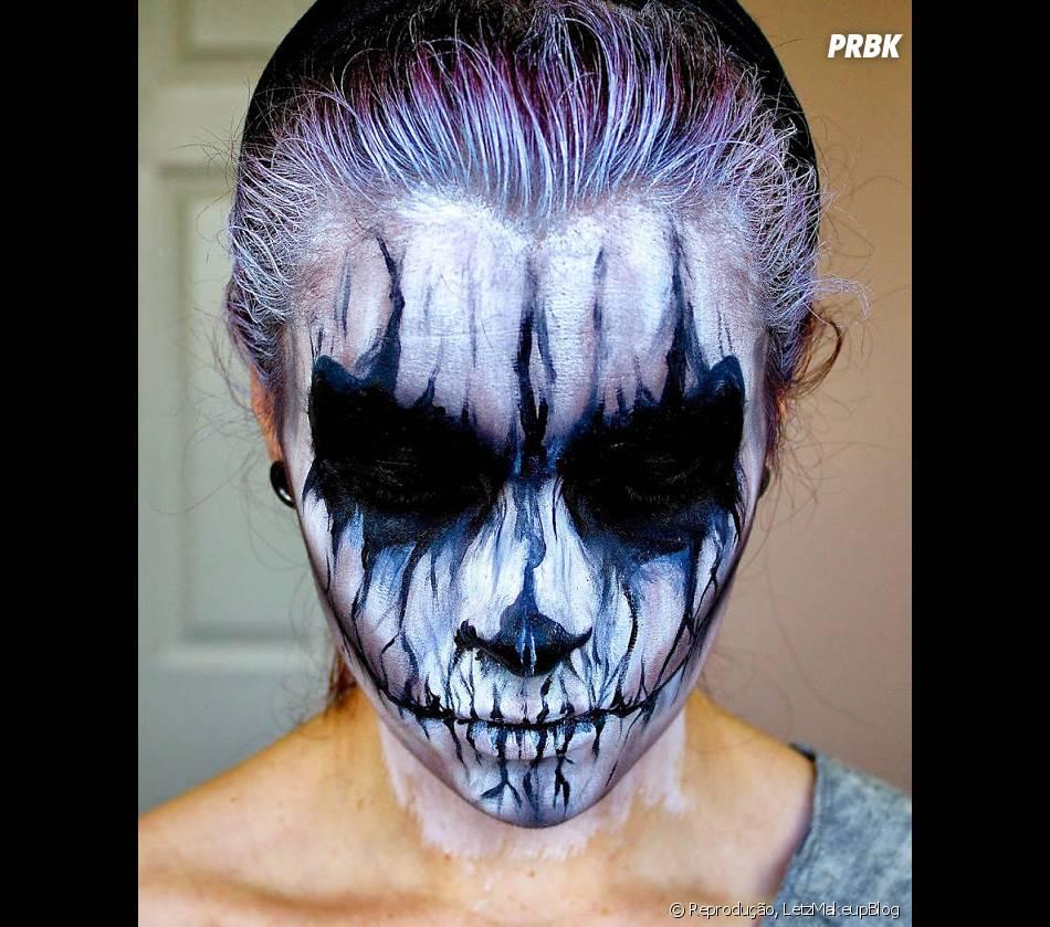 Maquiagem De Caveira Mexicana Especial Para O Dia Das Bruxas Purebreak