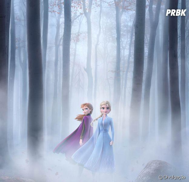 """""""Frozen 2"""": Anna e Elsa ganham destaque em novo pôster da animação"""