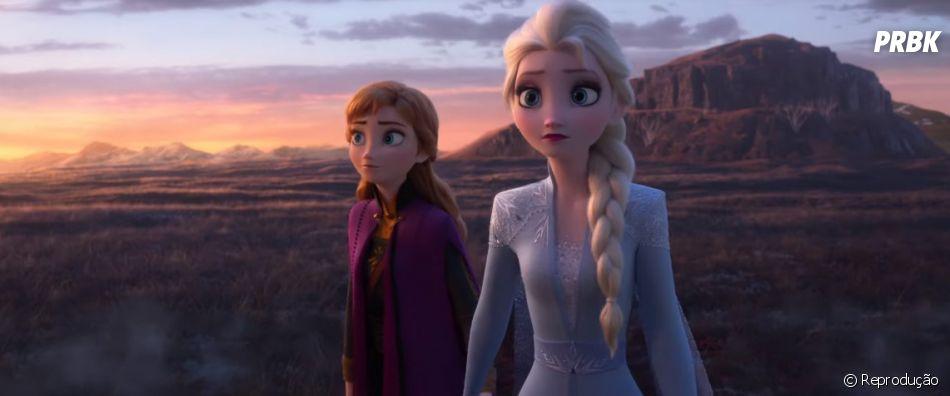 """Elsa está em busca do seu passado no novo trailer de """"Frozen 2"""""""