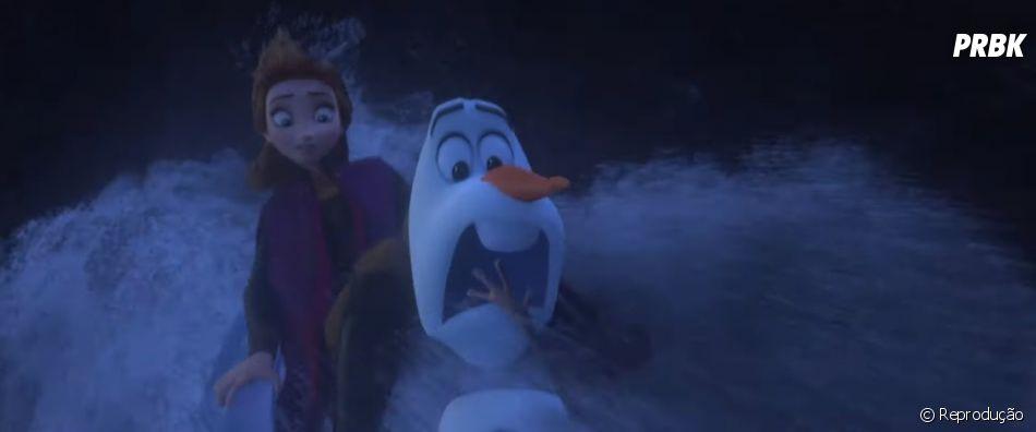 "Anna, Olaf, Kristoff e Sven se unem a Elsa em nova jornada no trailer de ""Frozen 2"""