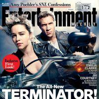 """Com Emilia Clarke, de """"Game of Thrones"""", """"O Exterminador do Futuro"""" revela fotos"""