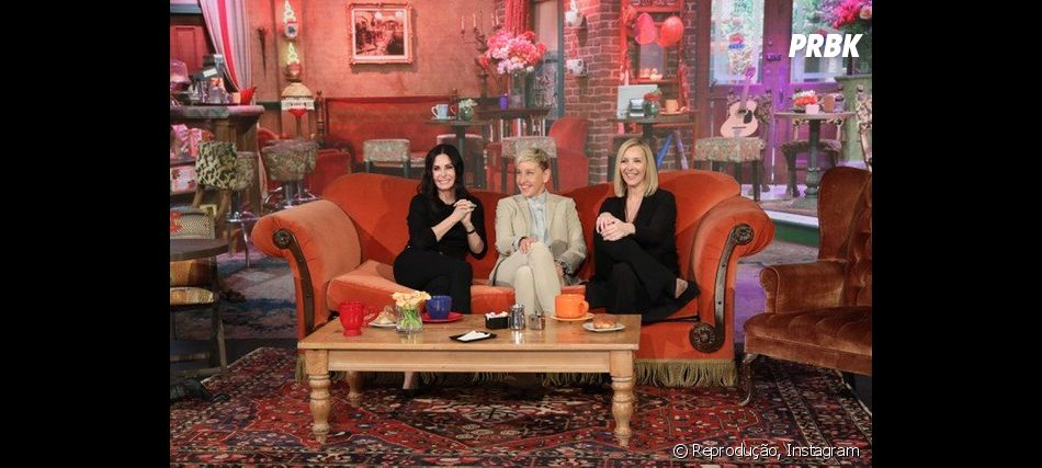 Lisa Kudrow e Courteney Cox se reencontraram no programa da Ellen Degeneres