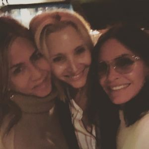 """A gente não está sabendo lidar com essa união toda das meninas de """"Friends"""""""