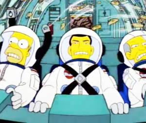 """A viagem de civis para o espaço também foi tema dos """"Simpsons"""" antes de virar realidade"""