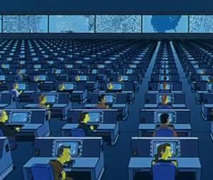 """Será que """"Os Simpsons"""" já sabiam do """"caso Snowden"""" e da espionagem da NSA? :O"""