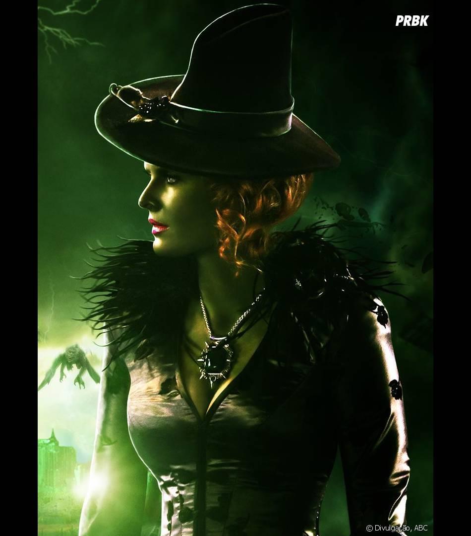 """A Wicked Witch (Rebecca Mader), de """"O Mágico de Oz"""", também fez muitas maldades em """"Once Upon a Time"""""""