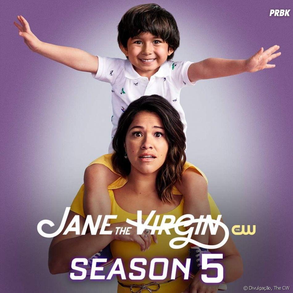"""Em """"Jane the Virgin"""", a identidade do narrador só foi revelado no último episódio da série"""
