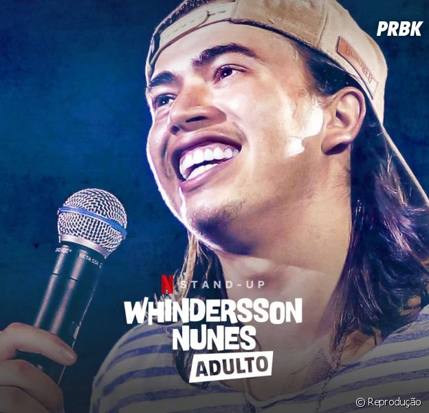 """Whindersson Nunes estreia """"Adulto"""" na Netflix e fãs comemoram!"""