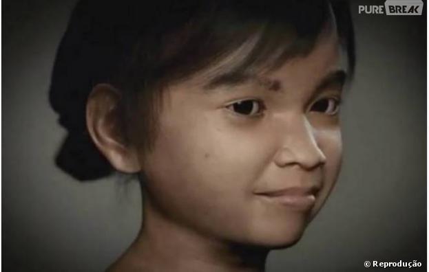 Sweetie é uma menina virtual criada por uma ONG holandesa