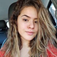 Maisa não desistiu da transição capilar e mostrou como está o seu cabelo nesse processo