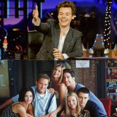 """Relembre todas as vezes que Harry Styles fez referência a """"Friends"""" e ninguém percebeu"""