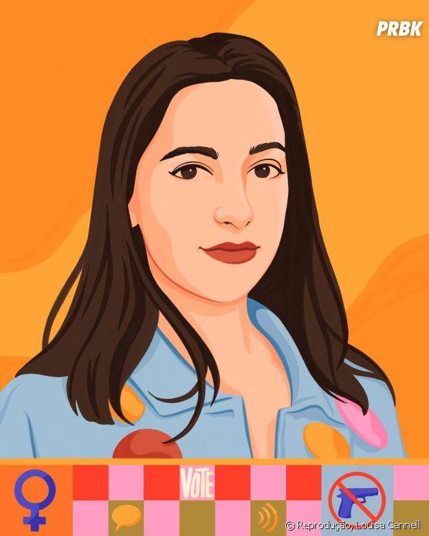 Arielle Geismar, 18 anos, Defensora do Controle de Armas
