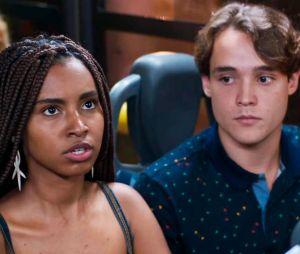 """Em """"Malhação"""", Jaqueline (Gabz) e Thiago (Danilo Maia) discutem sobre racismo"""