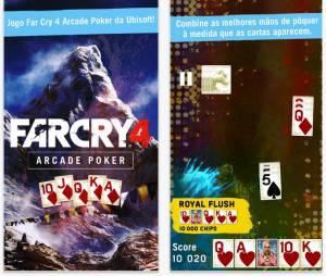 """Interface do aplicativo companion de """"Far Cry 4"""""""