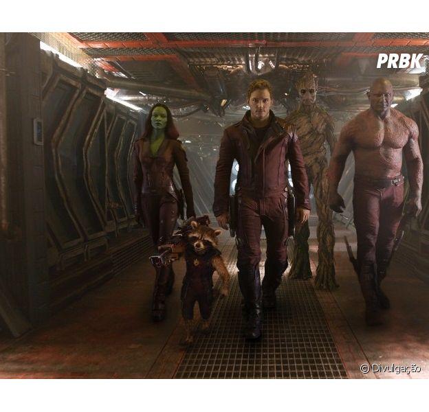 """Bastidores da cena de abertura de """"Guardiões da Galáxia"""" foram divulgados"""