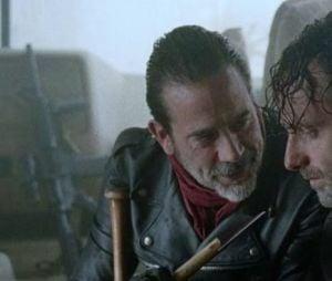 """""""The Walking Dead"""": fãs acreditam que Negan (Jeffrey Dean Morgan) não saberá concluir a história como Carl (Chandler Riggs) faria"""