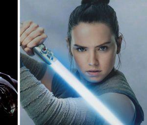 """Star Wars"": Rey (Daisy Ridley) e Darth Vader (James Earl Jones) te representam?"