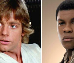"""""""Star Wars"""": Luke (Mark Hamill) e Finn (John Boyega) podem te representar e você nem imaginava"""