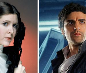 """""""Star Wars"""": ou será que você é uma mistura de Princesa Leia (Carrie Fisher) e Poe Dameron (Oscar Isaac)?"""