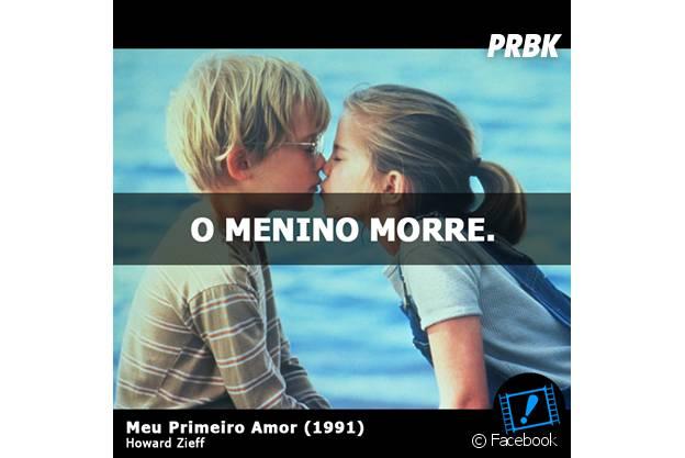 """Nem o drama """"Meu Primeiro Amor"""", com Anna Chlumsky e Macaulay Culkin, escapou da brincadeira"""