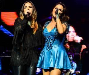 Maite Perroni adorou a presença de Wanessa Camargo em seu show. Será que vem parceria por ai?
