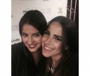 Wanessa fez questão de publicar o resultado do selfie no Instagram! Lindas!